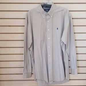 Ralph Lauren Mens long sleeve button-down shirt